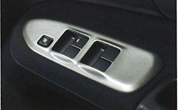 『ランサーエボリューションワゴン』 純正 CT9W ドアスイッチパネル(メタル調) パーツ 三菱純正部品 内装ベゼル パワーウィンドウパネル LANCER オプション アクセサリー 用品
