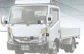 『アトラス』 純正 SQ1F24 メッキサイドパネル(左右セット) パーツ 日産純正部品 atlus オプション アクセサリー 用品