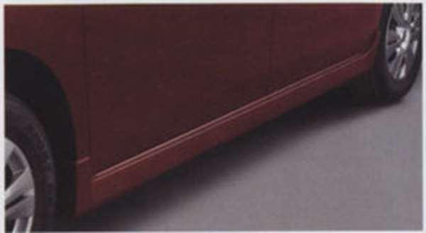 『セレナ』 純正 C25 CC25 NC25 CNC25 サイドシルプロテクター(ホワイトパール 色番号#QX1) パーツ 日産純正部品 サイドスポイラー エアロパーツ カスタム SERENA オプション アクセサリー 用品