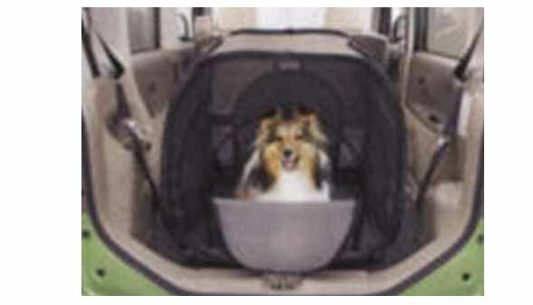 【タント】純正 L375S L385S L575S L585S ドッグテント(S) パーツ ダイハツ純正部品 ペット 犬 ハウス tanto オプション アクセサリー 用品