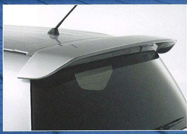 old003 【アウトランダー】純正 CW5W 大型テールゲートスポイラー パーツ 三菱純正部品 ルーフスポイラー リアスポイラー リヤスポイラー outlander オプション アクセサリー 用品