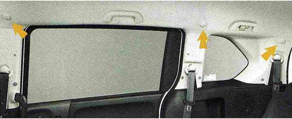 『フリード』 純正 GB3 GB4 マルチフックシステム カーテン 2列目&3列目用フック パーツ ホンダ純正部品 固定 ラゲッジ ラゲージ FREED オプション アクセサリー 用品
