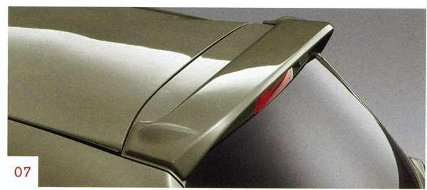 『マーチ』 純正 K13 ルーフスポイラー (G42、K23、GAB、NAH、NAR) パーツ 日産純正部品 MARCH オプション アクセサリー 用品