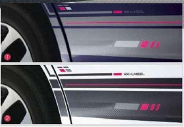 『ソリオ』 純正 MA36S サイドデカール(デジタルストライプ)左右セット ※ステッカーのみ パーツ スズキ純正部品 ステッカー シール ワンポイント solio オプション アクセサリー 用品