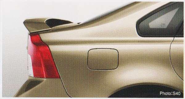 C30 S40 V50 パーツ トランクスポイラーウイングタイプ 塗装済 ボルボ純正部品 MB4204S MB5244 オプション アクセサリー 用品 純正 エアロ 送料無料