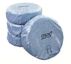 STI グツズ スバル マーカー付タイヤカバー 1枚につき [Lサイズ]