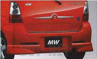 chw003 雪佛兰 MW 后方下扰流板铃木原装配件雪佛兰 MW 部件 me34s 部分真正铃木铃木真正铃木部分可选扰流板