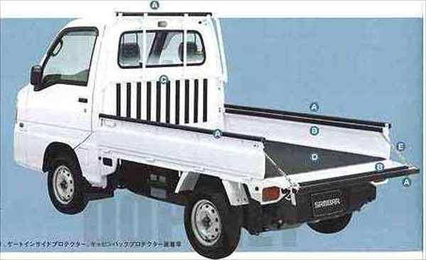 『サンバー』 純正 TV1 TV2 TT1 TT2 ゲートプロテクター パーツ スバル純正部品 sambar オプション アクセサリー 用品