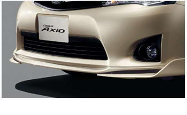【カローラアクシオ】純正 NKE165 NRE161 NZE161 フロントスポイラー パーツ トヨタ純正部品 axio オプション アクセサリー 用品