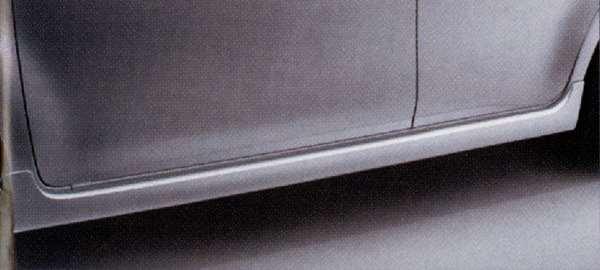 『キューブ』 純正 Z12 サイドシルプロテクター(除く#CAH・#QAB) パーツ 日産純正部品 サイドスポイラー エアロパーツ カスタム CUBE オプション アクセサリー 用品