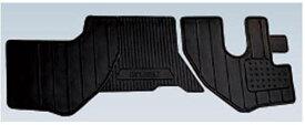 『エルフ』 純正 FR6AA FR6AAS〜 ラバーマット ワイドキャブ パーツ いすゞ純正部品 ゴムマット フロアマット オプション アクセサリー 用品