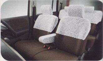 供附带正牌的HE22S比赛半覆盖物旁边气囊的车使用的零件铃木纯正零部件座位覆盖物污垢席保护lapin选项配饰用品