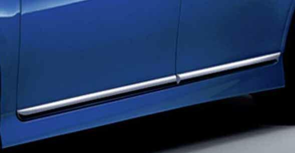 【ウィッシュ】純正 ZGE20 ZGE25 メッキサイドモール パーツ トヨタ純正部品 サイドガーニッシュ サイドパネル wish オプション アクセサリー 用品