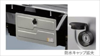 Hijet 卡车配件工具框 S500P S510P 可选配件用品真正
