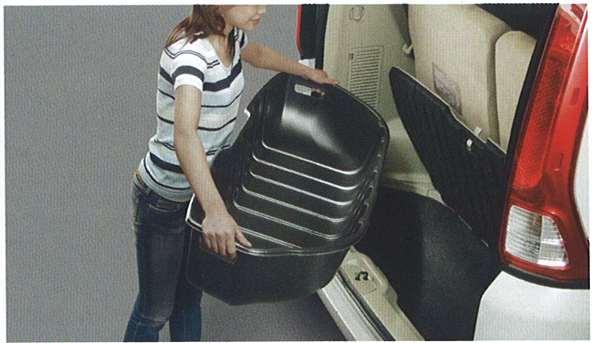 『セレナ』 純正 C25 CC25 NC25 CNC25 ラゲッジアンダーボックストレイ(樹脂製) パーツ 日産純正部品 SERENA オプション アクセサリー 用品