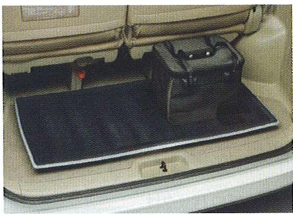 『セレナ』 純正 C25 CC25 NC25 CNC25 ラゲッジシステム『トレイセット』(ラゲッジトレイ+パーティション(2個)+防水バッグ) パーツ 日産純正部品 荷室 トレー ラゲージ SERENA オプション アクセサリー 用品