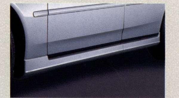 『グロリア』 純正 MY34 サイドシルプロテクター(左右セット) 『廃止カラーは弊社で塗装』 #QX1 ホワイトパール パーツ 日産純正部品 サイドスポイラー エアロパーツ カスタム GLORIA オプション アクセサリー 用品