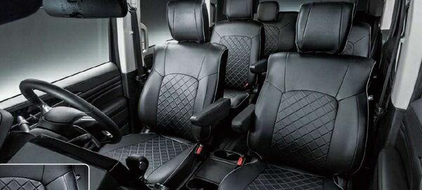 『デリカD:5』 純正 CV1W 本革調シートカバー パーツ 三菱純正部品 座席カバー 汚れ シート保護 オプション アクセサリー 用品