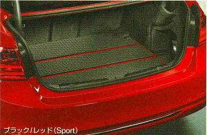 3 SEDAN・TOURING パーツ ラゲージ・コンパートメント・トレイ セダン用のブラック/レッド(Sport) BMW純正部品 3A20 3B20 3D20 3A30 オプション アクセサリー 用品 純正 トレー