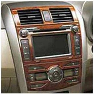 纯正的ZRE142木材风格面板零件丰田纯正零部件axio选项配饰用品