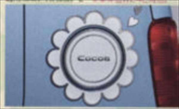 bdjy012 『ミラココア』 純正 L675S L685S サイドエンブレム パーツ ダイハツ純正部品 ドレスアップ ワンポイント miracocoa オプション アクセサリー 用品