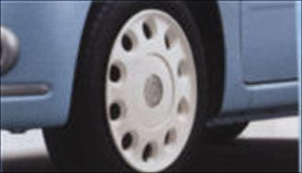 『ミラココア』 純正 L675S L685S カラーコーディネイトホイールキャップ(14インチ)パールホワイト パーツ ダイハツ純正部品 ホイールカバー miracocoa オプション アクセサリー 用品