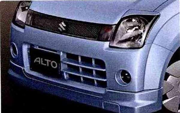 『アルト』 純正 HA24S フロントアンダースポイラー(G用) パーツ スズキ純正部品 フロントスポイラー カスタム エアロ alto オプション アクセサリー 用品