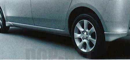 『ブーンルミナス』 純正 M502G M512G エアロマッドガード(1台分)(車体色対応) パーツ ダイハツ純正部品 芳香剤 香 boonluminas オプション アクセサリー 用品