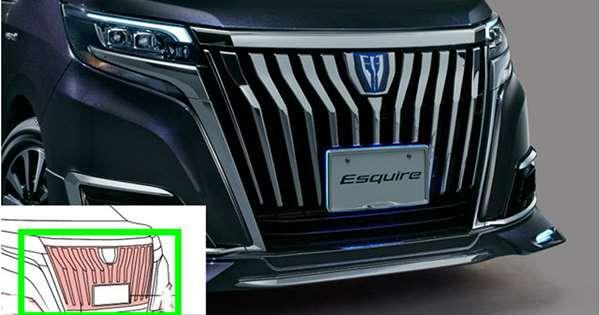 【エスクァイア】純正 ZWR80G ZRR80G フロントグリル(メッキ) パーツ トヨタ純正部品 カスタム エアロパーツ オプション アクセサリー 用品