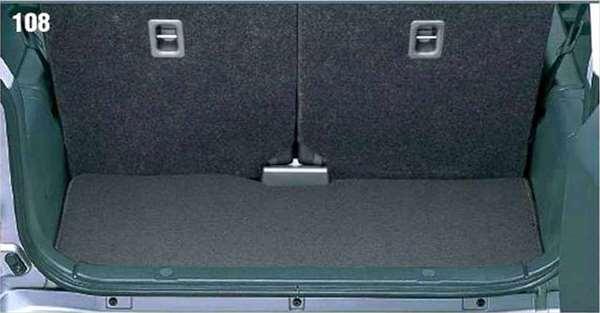 『ジムニー』 純正 JB23W ラゲッジマット(ジュータン) パーツ スズキ純正部品 ラゲージマット 荷室マット 滑り止め jimny オプション アクセサリー 用品