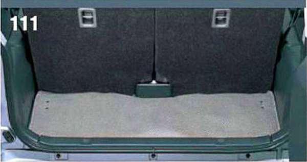 『ジムニー』 純正 JB23W ラゲッジマット(塩ビ) パーツ スズキ純正部品 ラゲージマット 荷室マット 滑り止め jimny オプション アクセサリー 用品