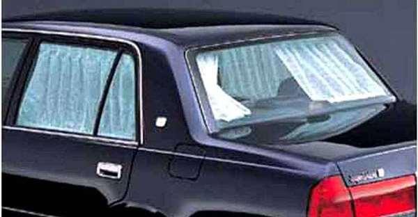 『クラウンセダン』 純正 YXS10 GBS12 GXS12 リヤカーテン 手動式 パーツ トヨタ純正部品 目隠し 日除け crown オプション アクセサリー 用品