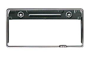 『カローラフィールダー』 純正 NZE121 NZE124 ナンバーフレーム(フロント)90タイプ(ステンレス製) フィールダー fielder nze121/124 ZZE122/123/124 パーツ トヨタ純正部品 ナンバープレートリム ナ