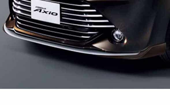 『カローラアクシオ』 純正 NKE165 NRE161 NZE161 NRE160 NZE164 フロントスポイラー パーツ トヨタ純正部品 axio オプション アクセサリー 用品