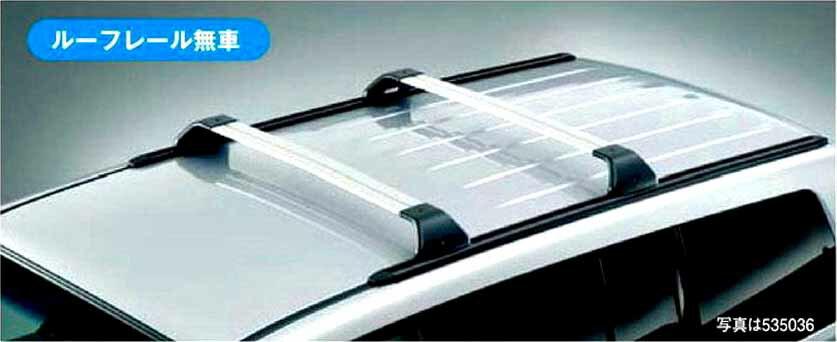 『パジェロ』 純正 V83W Sliding Magic Roof Carrierキャリアレール&ベースキャリア(ショートボディ専用) パーツ 三菱純正部品 キャリアベース ルーフキャリア PAJERO オプション アクセサリー 用品
