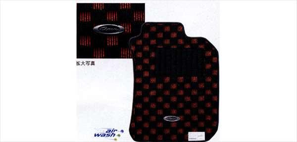 『コペン』 純正 L880K スポーティマット(レッド) パーツ ダイハツ純正部品 copen オプション アクセサリー 用品