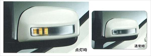 『ランディ』 純正 SC25 SNC25 ドアミラーカバー(ターンランプ付) パーツ スズキ純正部品 サイドミラーカバー カスタム landy オプション アクセサリー 用品
