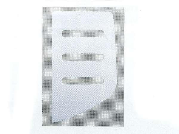 『NBOX』 純正 JF1 デカール クォーターウインドゥ 左右2枚セット パーツ ホンダ純正部品 ステッカー シール ワンポイント オプション アクセサリー 用品