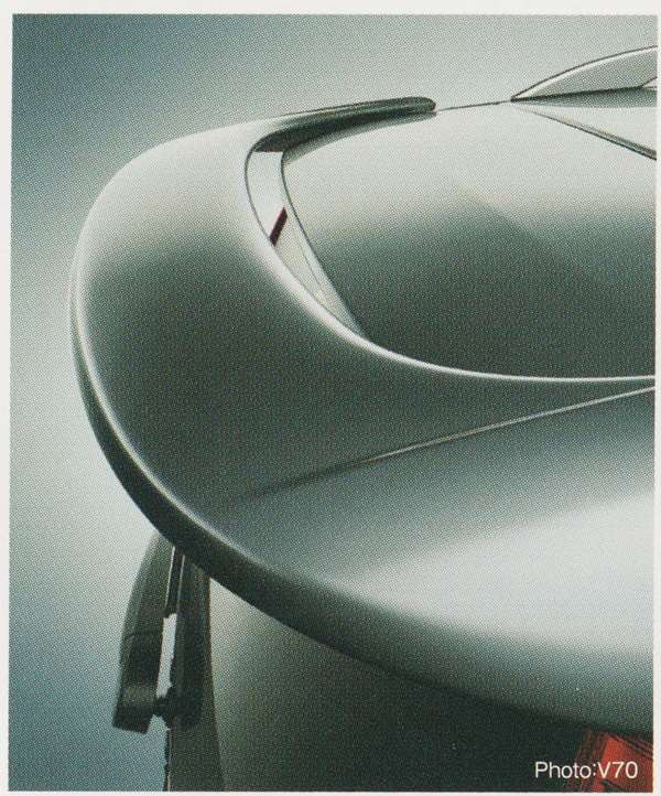 V70 XC70 S80 パーツ リア・ルーフスポイラー ボルボ純正部品 BB6304TW BB6304TXC AB6304T オプション アクセサリー 用品 純正 エアロ 送料無料