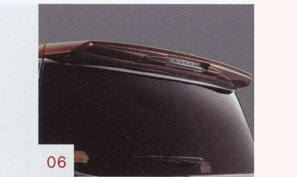 『エルグランド』 純正 PE52 ルーフスポイラー(ブリリアントシルバー:k23) パーツ 日産純正部品 ELGRAND オプション アクセサリー 用品
