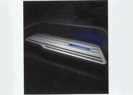 『エルグランド』 純正 PE52 リヤキッキングプレート MFUP2 パーツ 日産純正部品 スカッフプレート ステップ 保護 ELGRAND オプション アクセサリー 用品
