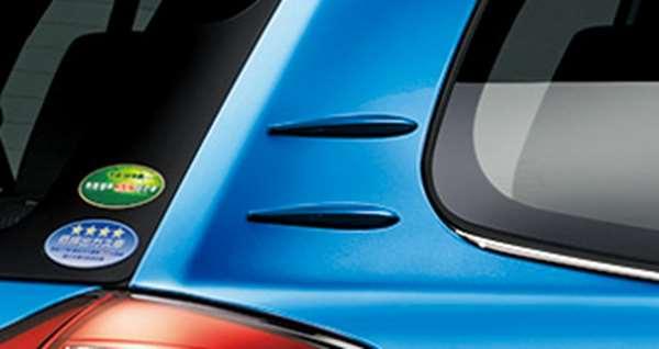 『カローラフィールダー』 純正 NKE155G NKE166G ZRE162 NRE161 NZE161 NZE164 エアロスタビライジングフィン パーツ トヨタ純正部品 fielder オプション アクセサリー 用品