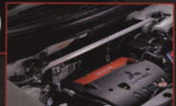 『RVR』 純正 GA3W RALLIIART スポーツストラットタワーバー(フロント) パーツ 三菱純正部品 補強 フレーム エンジンルーム オプション アクセサリー 用品