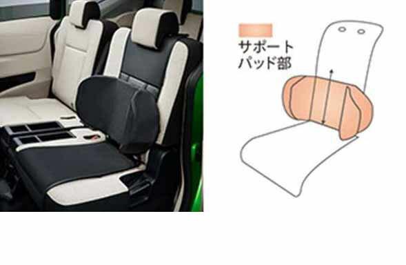 『シエンタ』 純正 NSP170G NCP175G NHP170G サイドサポートパッド シートエプロンタイプ パーツ トヨタ純正部品 汚れから保護 セミシートカバー sienta オプション アクセサリー 用品
