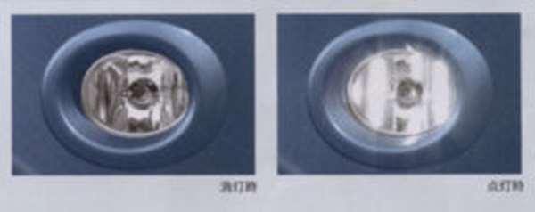 『ライフ』 純正 JC1 JC2 ハロゲンフォグライト(クリア)フォグライトガーニッシュ パーツ ホンダ純正部品 エアロパーツ 外装 life オプション アクセサリー 用品