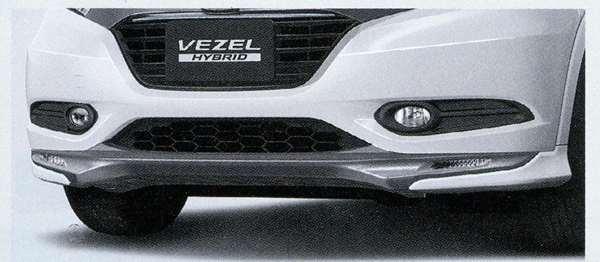 『ヴェゼル』 純正 RU3 エアロバンパー フロント用(カラードタイプ) パーツ ホンダ純正部品 カスタム vezel オプション アクセサリー 用品