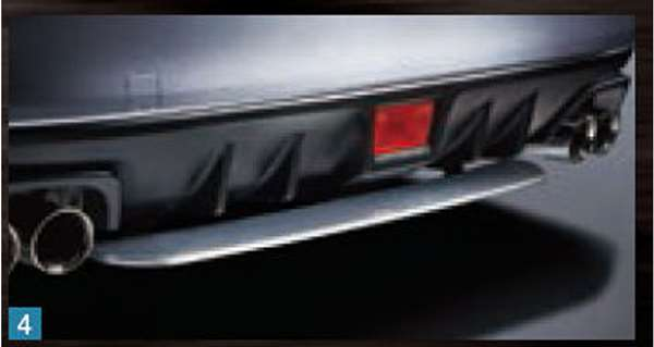 『WRX STI』 純正 VAB STIリヤアンダースポイラー パーツ スバル純正部品 リアスポイラー カスタム エアロパーツ オプション アクセサリー 用品