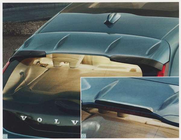 V40 パーツ ルーフスポイラー ※ルーフスポイラー用リップは別売です ボルボ純正部品 MB4164T MB5204T オプション アクセサリー 用品 純正 エアロ 送料無料