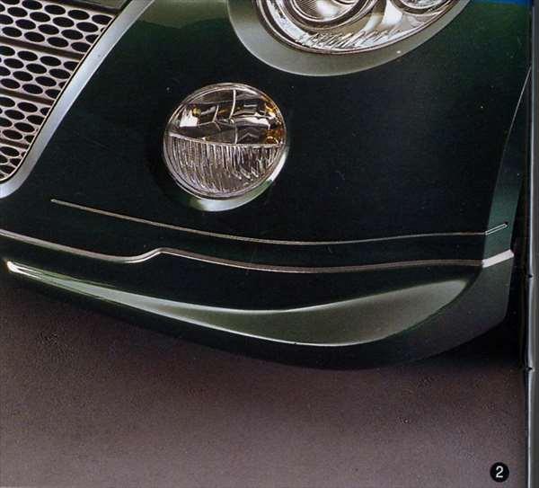 『コペン』 純正 L880 フロントロアスカート パーツ ダイハツ純正部品 copen オプション アクセサリー 用品