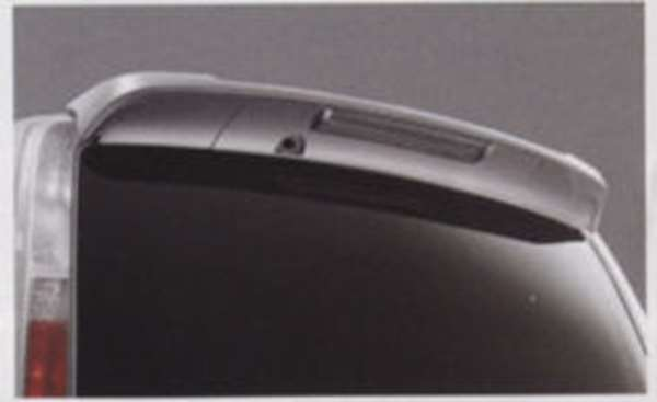 ルーフスポイラー(ホワイトパール 色番号#QX1) P8JCA セレナ C25 CC25 NC25 CNC25 日産純正 SERENA パーツ 部品 オプション